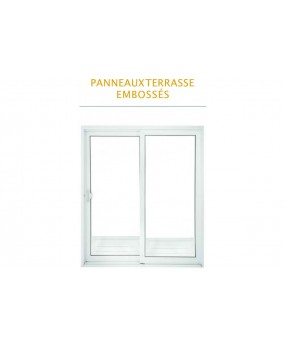 Porte simple avec vitre Type Classique
