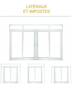 Porte simple sans vitre Type Design