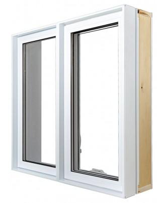 Fenêtre à battant PVC  - 1