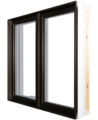 Fenêtre à battant Hybride PVC / Aluminium Classique  - 1
