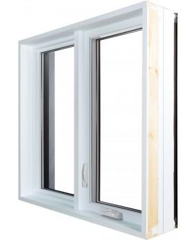 Fenêtre à battant Hybride PVC / Aluminium Classique  - 3