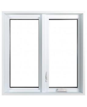 Fenêtre à battant Hybride PVC / Aluminium Classique  - 4