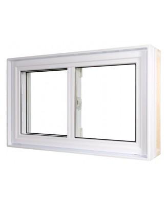 Fenêtre Coulissante PVC Simple Action  - 1