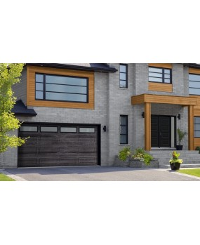 Porte de garage contemporaine Boucherville