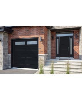 Porte de garage contemporaine Laval
