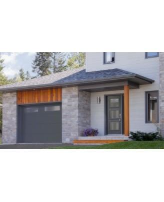Porte de garage contemporaine Joliette